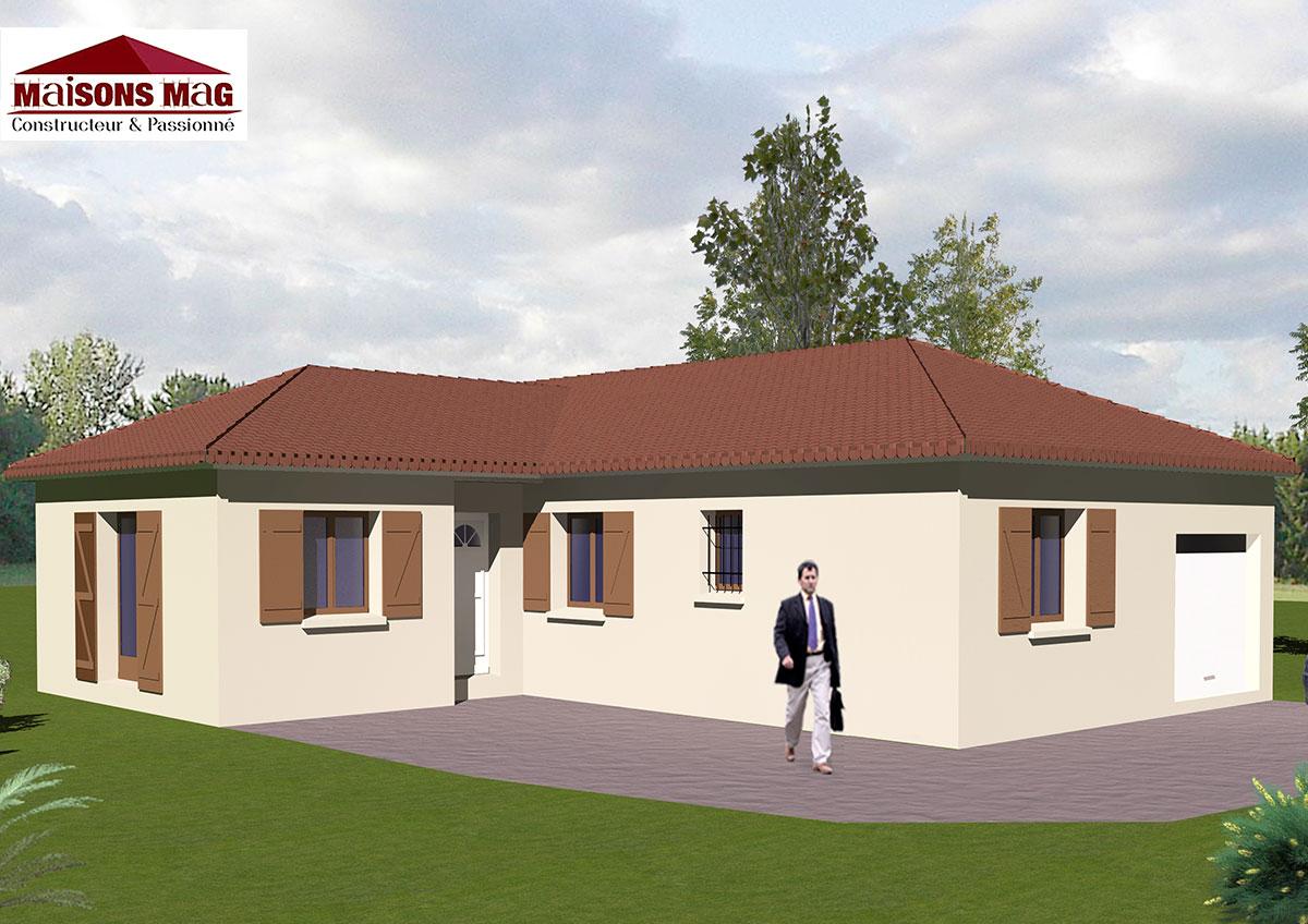 Plan maison plain pied avec sous sol plan au sol plan de - Plan maison avec sous sol ...